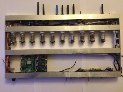 Raspi and 4 new PSU rack integration
