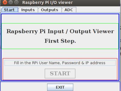 Er zijn nu 3 tabbladen extra: Inputs, Outputs en ADC (analog inputs).