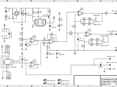 Schaltplan 8A Variante