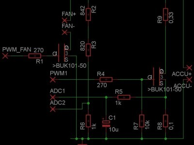 simplified schematic modified voltage control LM5117