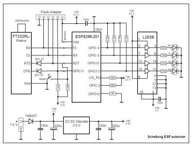 Schematics of ESP-Standalone