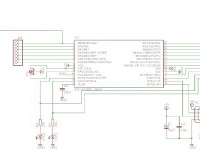 Schematic PCB PIC18F2550
