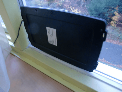 Solar panel (option for power supply)
