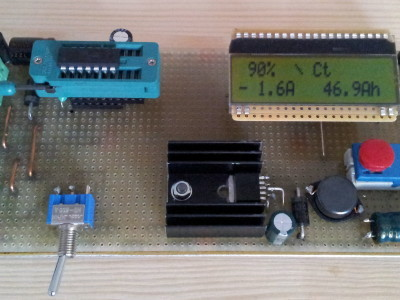 board with additional power-USB-charger