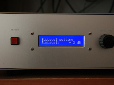 Prototype: subwoofer level setting