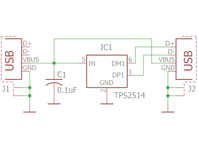 Adapter schematic