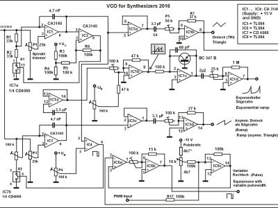Image 3: VCO circuit