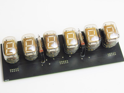Tube PCB - front view