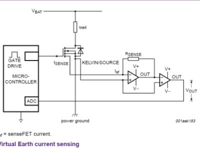 Virtual Earth current sensing