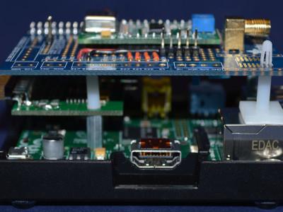 Another view of the Raspberry Pi Wobbulator prototype