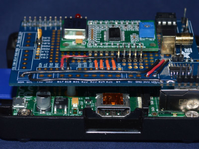 The revised Raspberry Pi Wobbulator prototype with onboard ADC and Log Amp