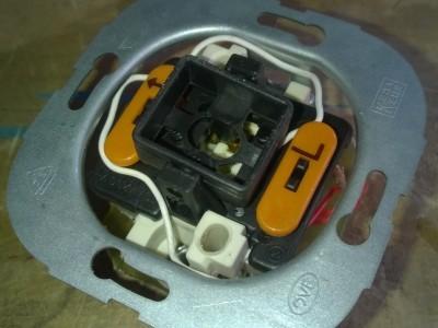 Antenna 17cm outside Push Button Insert