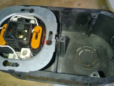 flush-mounting Box