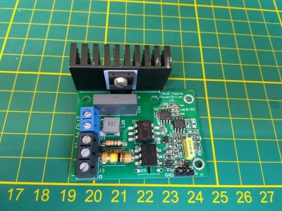 Mains Power Driver by MCU DC or PWM