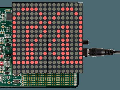 MAXREFDES99# LED Shield Experiments [160267]