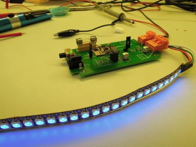 ESP8266 web server for Neopixel LED strips [160487]