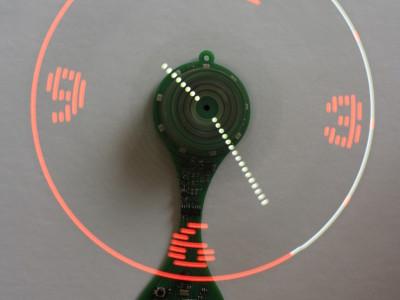 High-end propeller clock [120732]