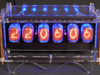 6-digit Nixie clock [150189]