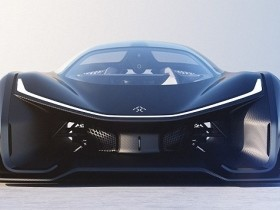 @CES: Faraday Future 1 Khp electric supercar