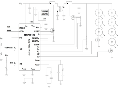 Digitally enhanced analog power