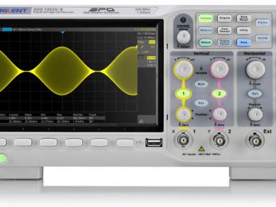 Siglent: new generation Super Phosphor Oscilloscope