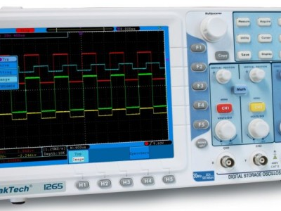Review: PeakTech 1265 Digital Oscilloscope
