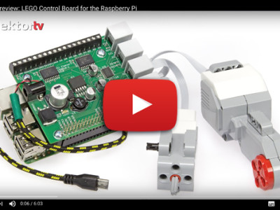 LEGO Motors Control Board for the Raspberry Pi