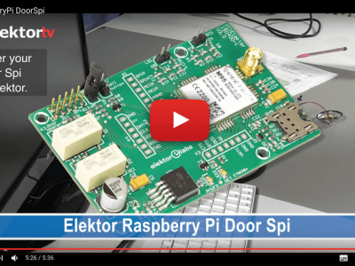 Who's that knocking on my door? With Raspberry Pi
