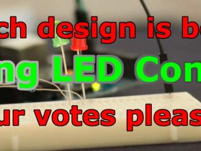 Who designed the best fading LED circuit? Your votes please...