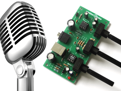 Microphone preamplifier [140101]