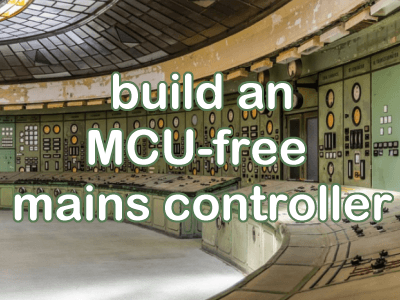 Build a 2000-watt controller for line-powered inductive and resistive loads