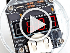 Elektor.TV | It's never too late for the Solder:Time Watch Kit