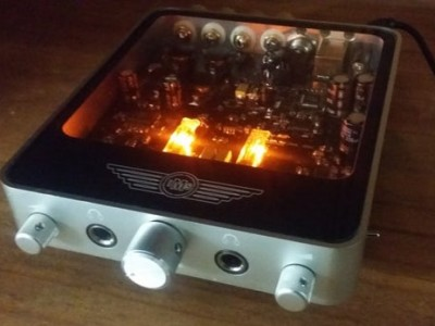 2 x 50-watt Desktop Valve Amplifier kickstarts