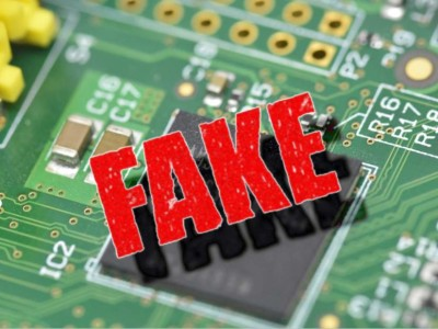 A patent for detecting counterfeit chips