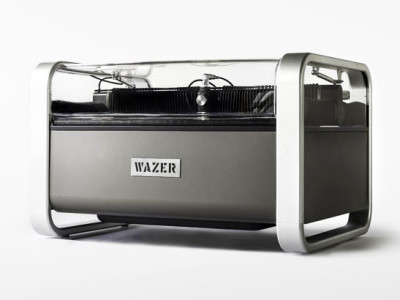 WAZER: a tabletop water-jet cutter