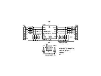130023-2 schematic adapter (v1.0)