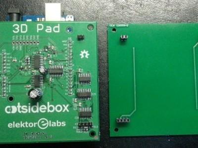 Assembled PCBs.