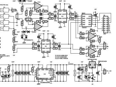 Schematic of the Power Meter 140409-1 v1.0