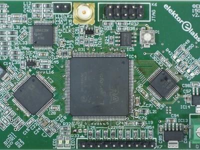 Top view of FPGA DSP Board (150177-1 v2.0)
