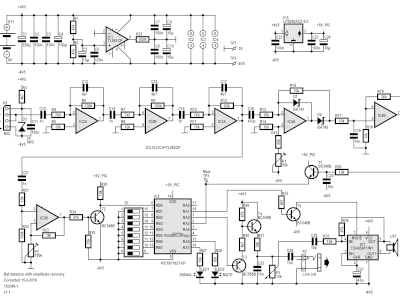 Schematic of the bat detector (150346-1 v1.1)