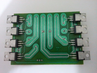 Solid-state relay pcb