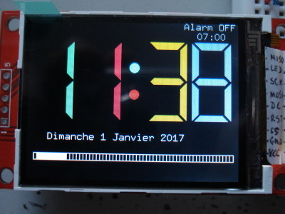 7 segments display