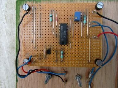 detail view PCB