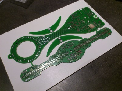 New version (3rd) PCB, for real !