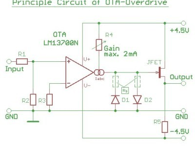 Figure 9 - OTA-Overdrive-Cell