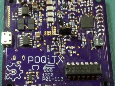 POQiTX Completed Prototype