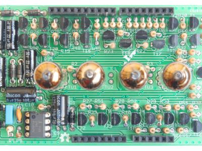 IV-3 VFD shield PCB top view