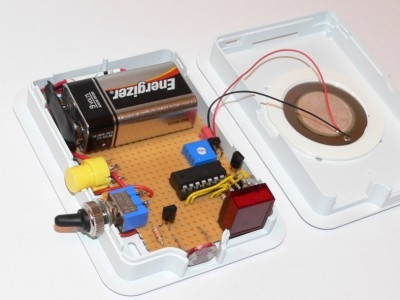 Device construction in Raspberry Pi case