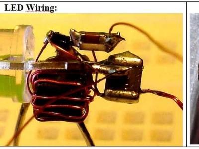 LED-wiring & mounting