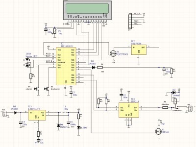 Schematics of the Li-Ion charger